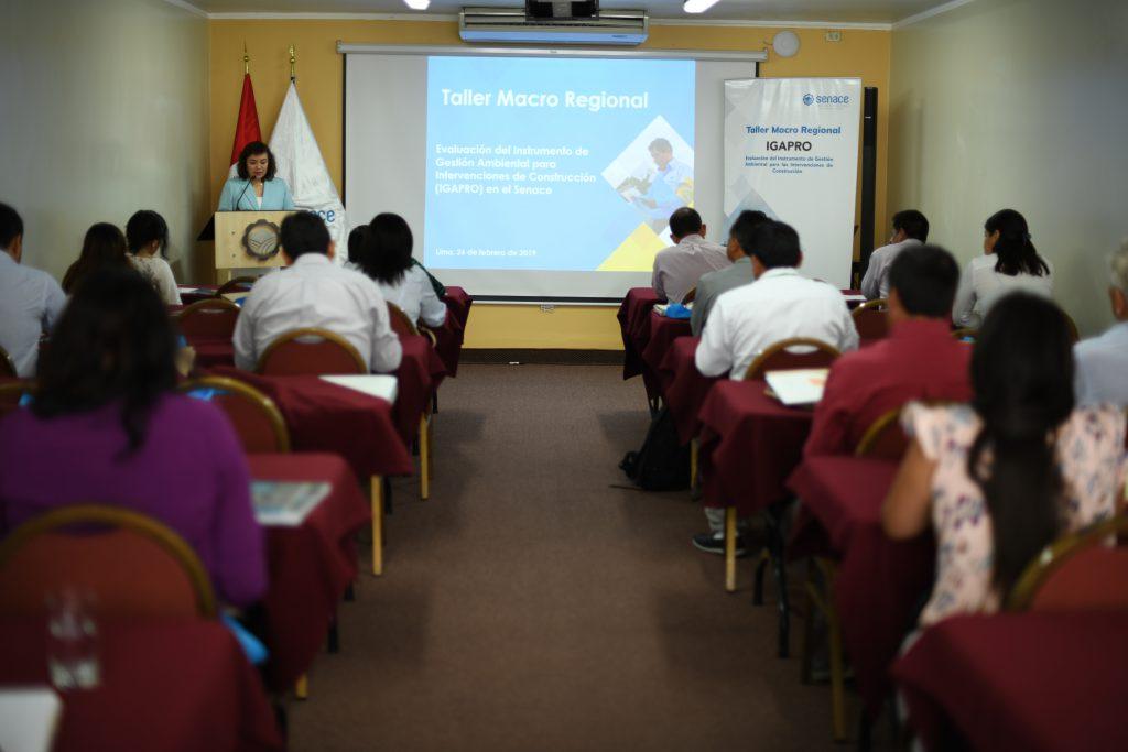 Senace capacitó a funcionarios de regiones y municipalidades provinciales de Lima, Ica y Ancash sobre la formulación del IGAPRO
