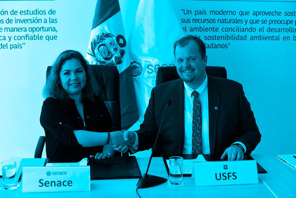 Senace formaliza acuerdo de cooperación con USAID y USFS para fortalecer el proceso de evaluación ambiental
