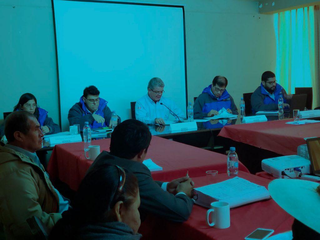 Comunicado sobre visita del Senace al distrito de Pallpata