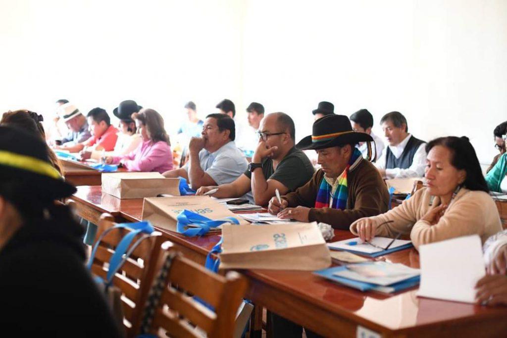 Senace informa a profesionales de la región Huancavelica en temas relativos a la Certificación Ambiental